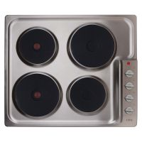 CDA Stainless Steel 600mm Electric Hob
