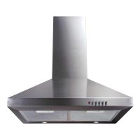 CDA Stainless Steel 600mm Chimney Style Cooker Hood