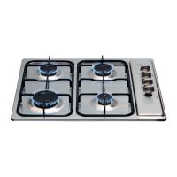 CDA 600mm Four Burner Gas Hob Stainless Steel HG6150SS
