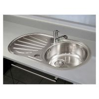 Reginox Galicia Lux Stainless Steel Kitchen Sink & Tap Pack