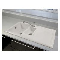 Reginox 1.5 Bowl Ceramic Kitchen Sink & Tap Pack
