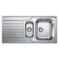 Blanco Dinas 1.5 Bowl Stainless Steel Kitchen Sink & Tap Pack