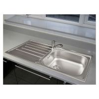 Reginox Daytona 1.0 Bowl Stainless Steel Kitchen Sink & Tap Pack