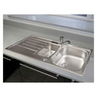 Reginox Le Mans 1.5 Bowl Stainless Steel Kitchen Sink & Tap Pack