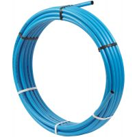 MDPE Blue Polyethylene Pipe Coil 20mm x 25m