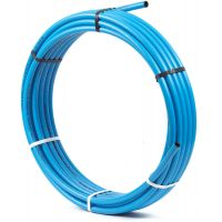 MDPE Blue Polyethylene Pipe Coil 25mm x 25m