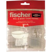 Fischer Toilet Pan & Bidet to Wall Fixing Set