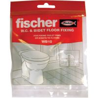 Fischer Toilet Pan & Bidet to Floor Fixing Set