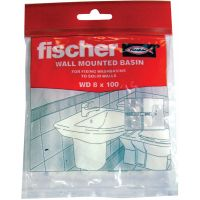Fischer Corner Basin or Hand Riser Fixing Set
