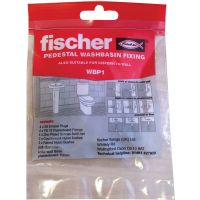 Fischer Wash Basin with Pedestal Fixing Set