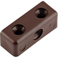 Unifix Half Joint Block Brown Pack of 10
