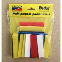 Wedgit Plastic Packers Assorted Pk50