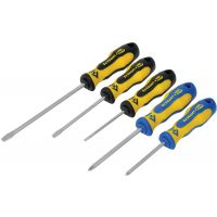 CK Triton XLS 5pc Set Slotted And Pozi Screwdrivers