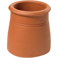 Cannon Head Red Chimney Pot 300mm