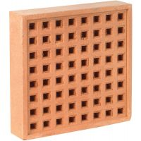 "Air Brick Red 215 x 215mm (9"" x 9"")"