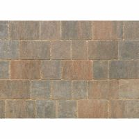 Trident Paving Pack Burnt Ochre 9.73m²