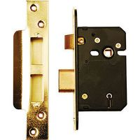 Dale Mortice Sashlock Brass 63mm