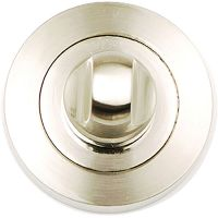 Astro Bathroom Thumb Turn Set Satin Nickel Plated