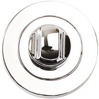 Venus Bathroom Thumb Turn Set Polished Chrome Plated