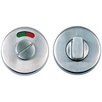 Dale Bathroom Thumb Turn Set Satin Stainless Steel