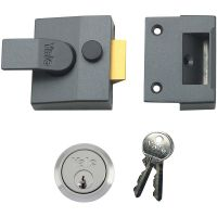 Yale P85 Deadlocking Nightlatch DMG/Satin Chrome 40mm