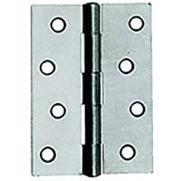 Butt Hinges 1838 Steel Self Colour 100mm (PK 24)
