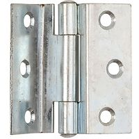 Stormproof Hinges Zinc Plated 63mm (PK 2)