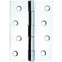 Butt Hinge 1838 Chrome Plated 50mm Pk 2