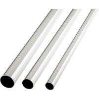 Colorail Tube Chrome 25 x 2440mm