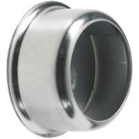Colorail Invisifix Socket Chrome 25mm Pk 2
