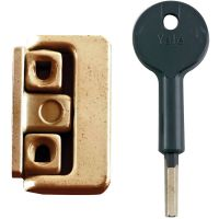 Yale 8K101 Window Lock Polished Brass