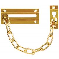 Door Chain Brass Plated