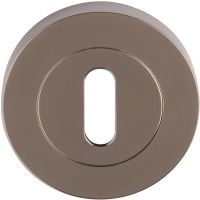 Keyhole Escutcheon Black Nickel