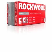 Rockwool Sound Insulation Slab 1200 x 600 x 50mm Covers 8.64m²