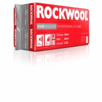 Rockwool Sound Insulation Slab 1200 x 600 x 100mm Covers 4.32m²