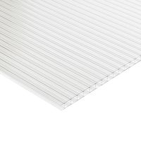Multi Wall Polycarbonate  Roofing Sheet 3000mm x 700mm x 16mm