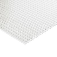 Multi Wall Polycarbonate  Roofing Sheet 4000 x 980 x 16mm