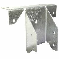 Simpsons Ridge Rafter Connector Galvanised 100mm
