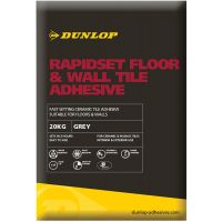 Dunlop Rapidset Floor & Wall Tile Adhesive Grey 20kg