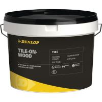 Dunlop Tile On Wood Adhesive & Grout Grey 15kg