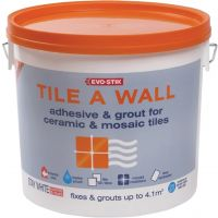 Evo-Stik Mould Resistant Wall Tile Adhesive & Grout Standard