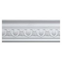 White Egg & Dart Coving 80 x 2900mm