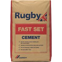 Rugby Fastset Cement 25kg