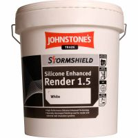 Johnstone's Trade Stormshield Silicone Render 1.5mm 25kg