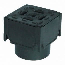 Garden corner unit drainage solution