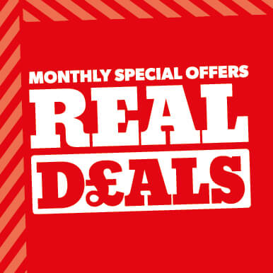 Selco Real Deals monthly promotions