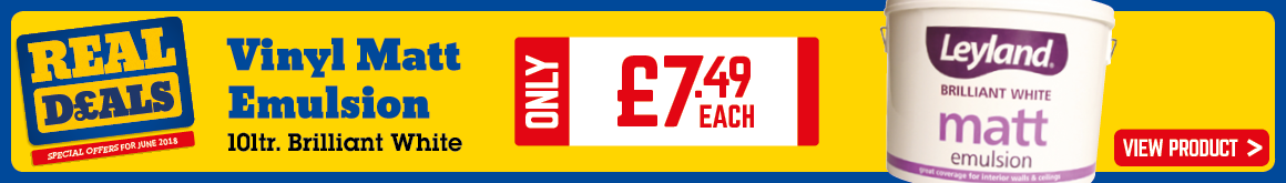 Banner for clearance tiles