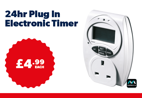24hr Plug in Electronic Timer