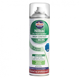 Nilco Dry Touch High Contact Areosol Sanitiser 500ml