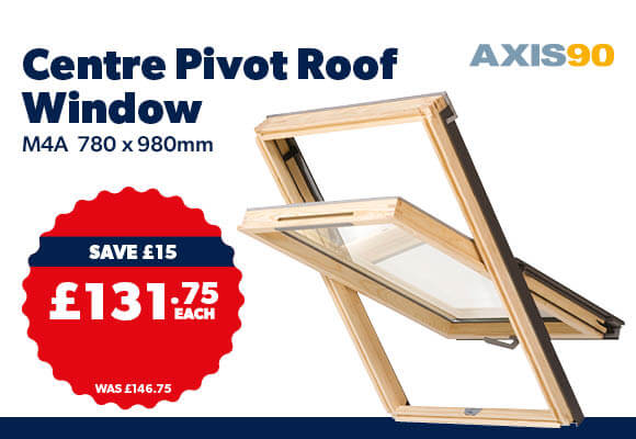 Axis90 Centre Pivot Roof Window